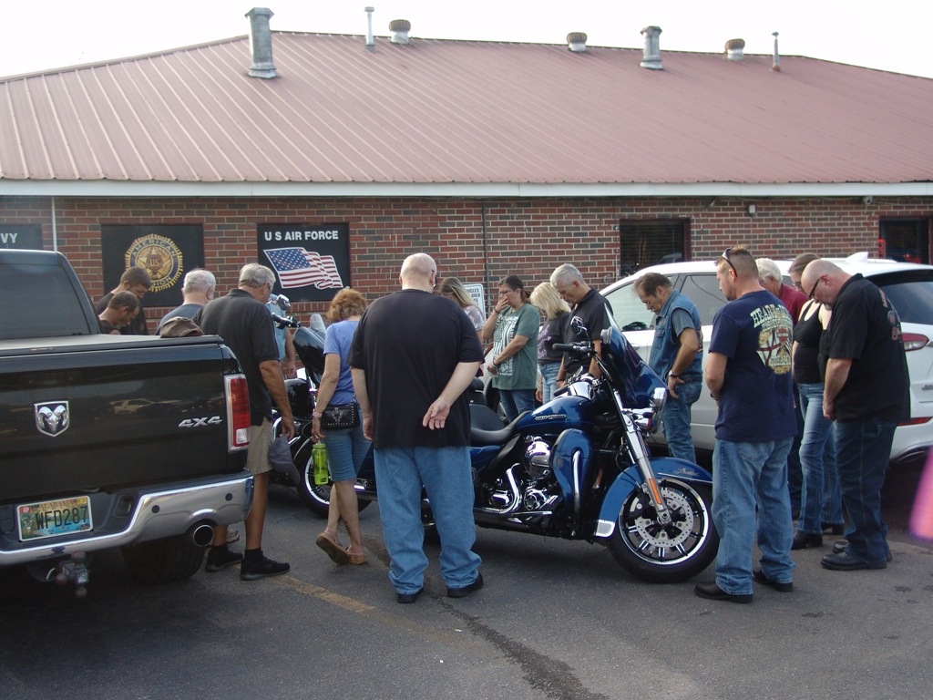 2020 Legion Post 107 Hosts Faith Riders Blessing of the Bikes 1