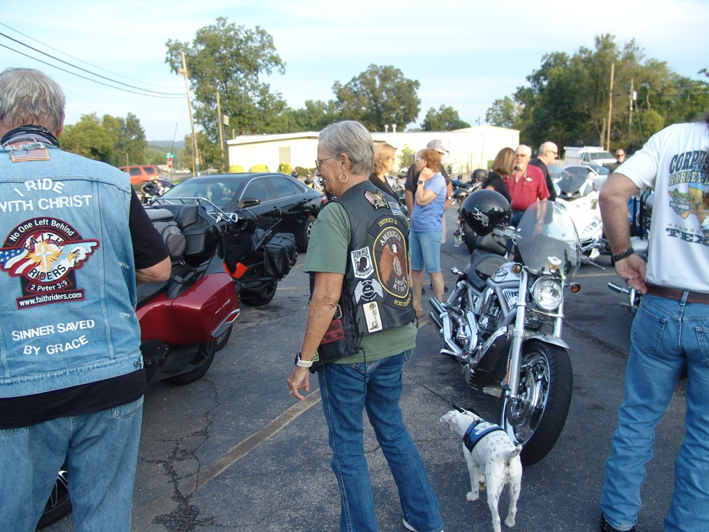 2020 Legion Post 107 Hosts Faith Riders Blessing of the Bikes 11