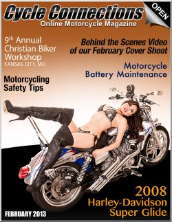 2008 Harley-Davidson Super Glide & Cover Model Ashley