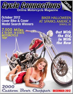 2000 Custom Boar Chopper & Cover Model Jessica