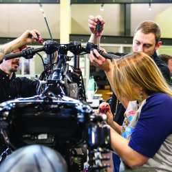 "Harley-Davidson Teams with local Trade Schools for ""Battle of the King's"" Custom Bike Build Competition"