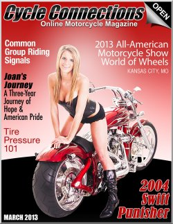 2004 Swift Punisher & Cover Model Katlinne
