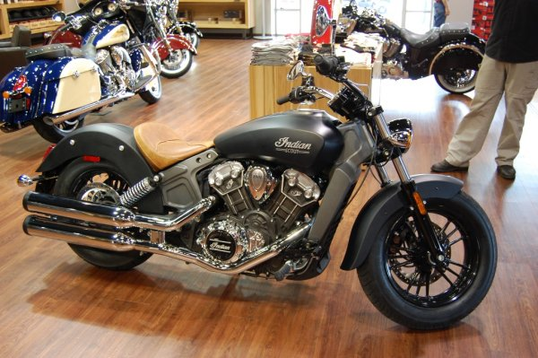 2015 Indian® Scout™ Black Smoke