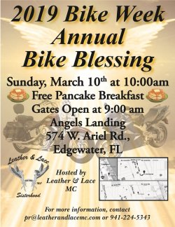 2019-Bike Week Bike Blessing & Free Pancake Breakfast