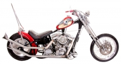 2000 Custom Boar Chopper