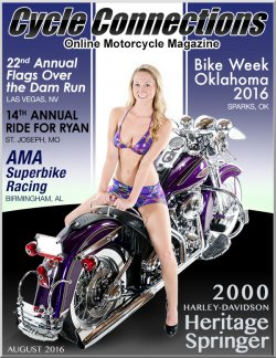 2000 Harley-Davidson Heritage Springer and Cover Model Brianna