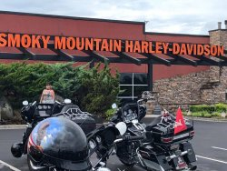 The 2018 Great Smokey Mountain H.O.G Rally, Maryville, Tennessee