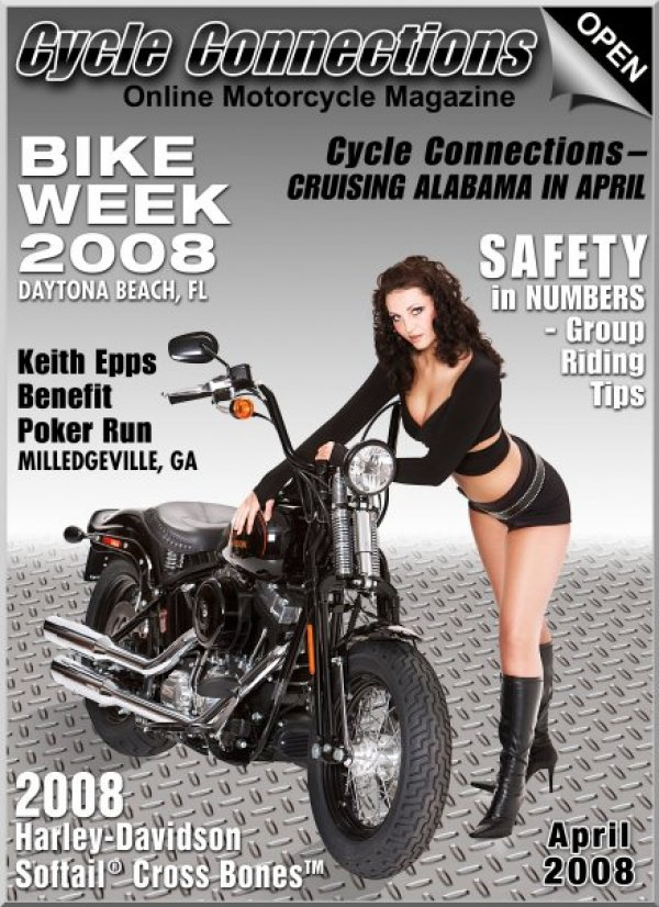 2008 Harley-Davidson FLSTSB Softail® Cross Bones™ and Cover Model Juliet