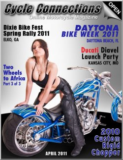 2010 Custom Rigid Chopper & Cover Model Kelly