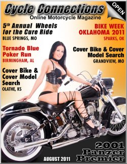 2001 Panzer Premier & Cover Model Ashley