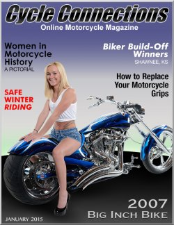 2007 Big Inch Bike & Cover Model Bree