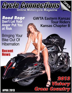 2013 Victory Cross Country & Cover Model Stephanie