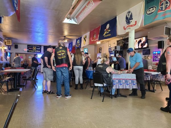 Beast Feast and Poker Run Attendances: Saints MC, Southern Family RC, The Brethren of Widows Sons RC Location: Saints MC Westside …Article & Photos By: Michael Thomas Hodge