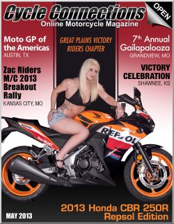 2013 Honda CBR250R Repsol Edition & Cover Model Valerie