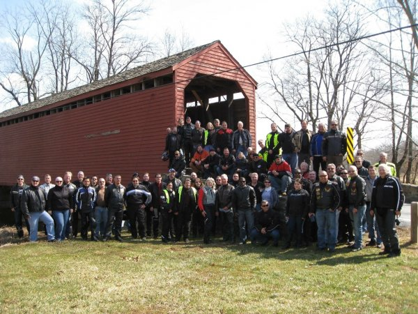 2018 Covered Bridge Ride, Battley Harley-Davidson- Maryland