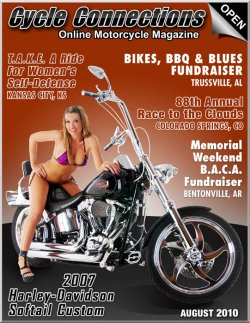2007 Harley-Davidson Softail Custom and Cover Model Brooke