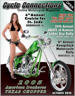 2005 American Ironhorse Texas Chopper and Cover Model Amanda