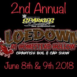 2nd Annual Loedown- Crawfish Boil - Car, Bike, Truck & Bike Show – Homestead Hollow, Springville, Alabama