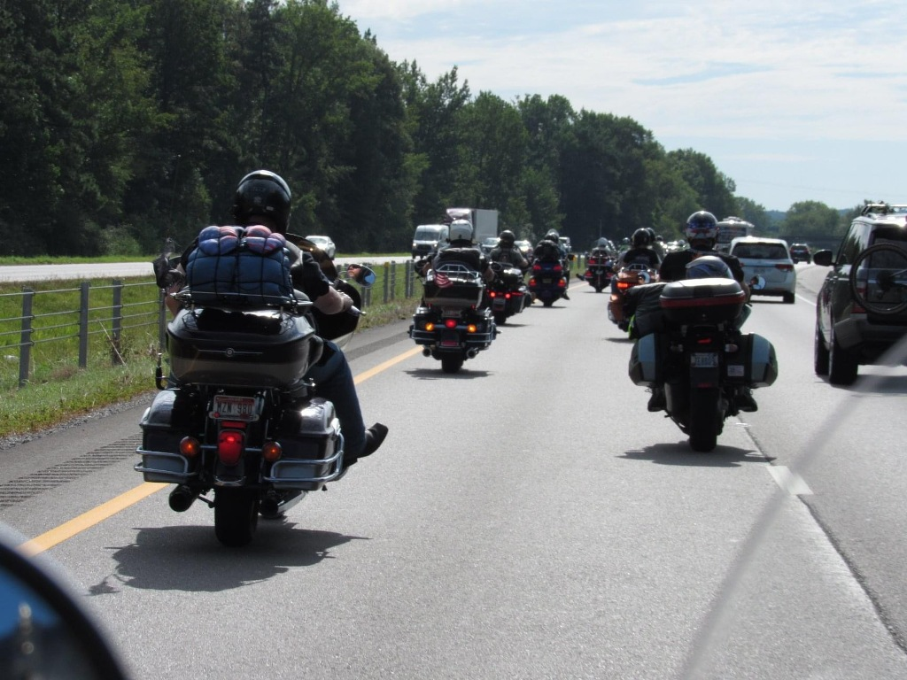 2020 Fallen Soldiers memorial cross country ride 1