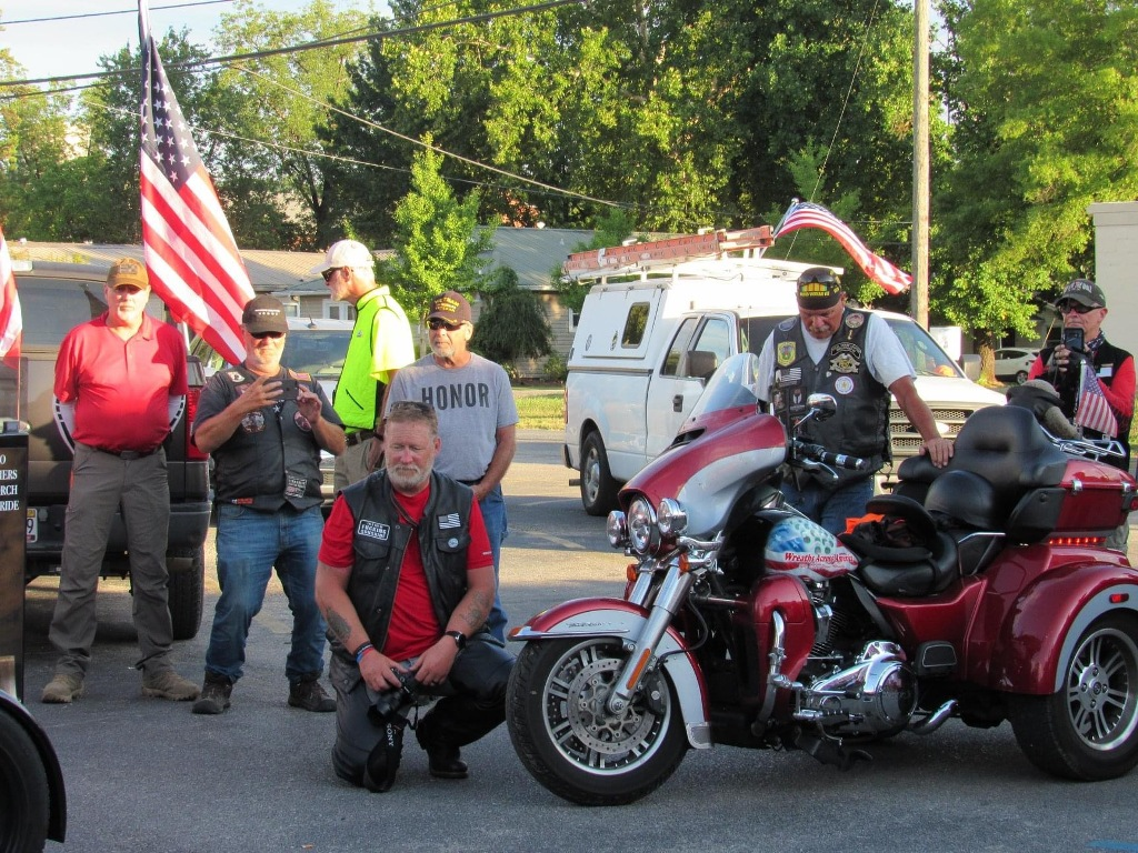 2020 Fallen Soldiers memorial cross country ride 18