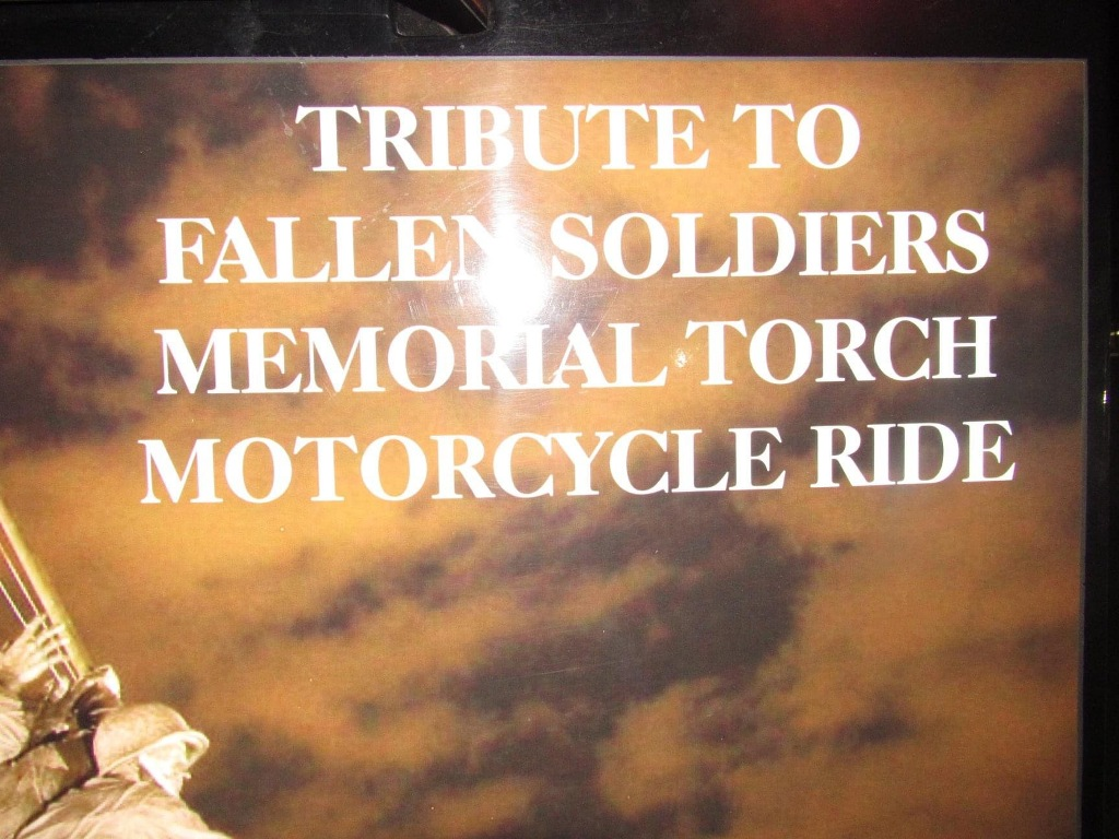 2020 Fallen Soldiers memorial cross country ride 20