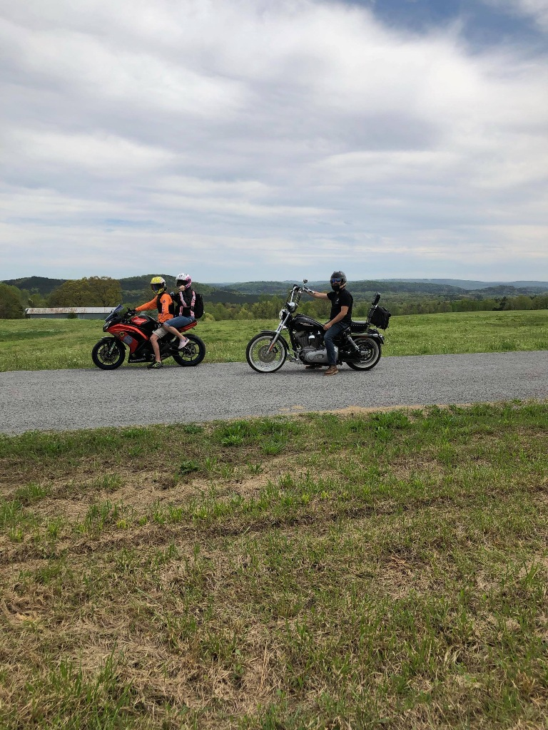 2020 riding with Christopher Litteral during covid 19 2