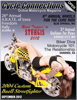 2004 Custom Buell Streetfighter & Cover Model Nicole
