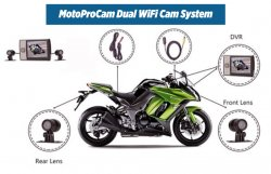 Top Dawg Electronics Announces the release of The MOTOPROCAM DUAL WIFI CAM for Motorcycles By Bill Stephenson April 15, 2018
