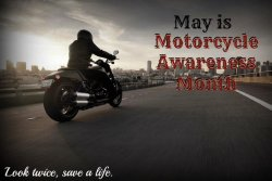 Motorcycle Safety Awareness Month (May 2015)
