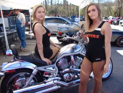 Alabama Speed Club Wheels and Wings Show at Hooters in Trussville, Alabama