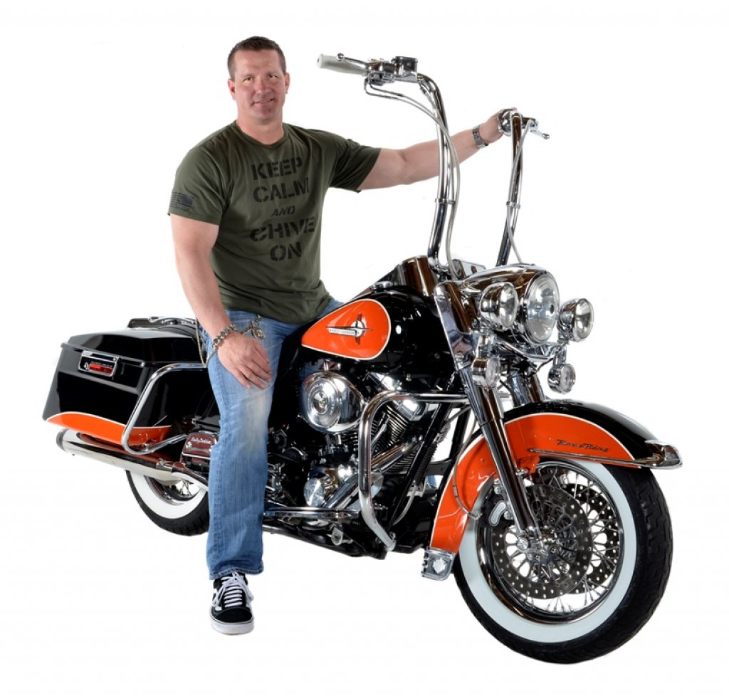 "Troy ""Mongo"" Phillips & His 2005 Harley-Davidson Road King"