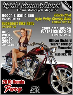 2010 Honda Fury & Cover Model Rebekah