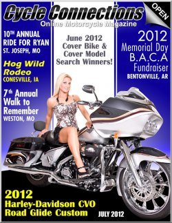 2012 Harley-Davidson CVO Road Glide Custom & Cover Model Sammi