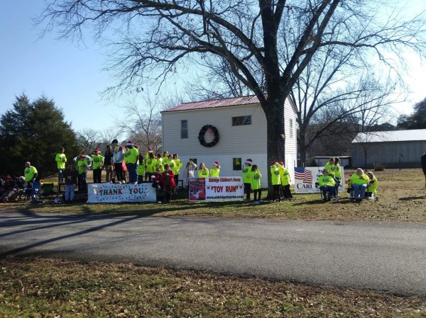 "The Eldridge Children's Home Toy Run with the ""Gintown Lowlife Society"""