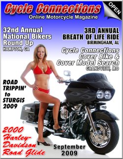 2000 Harley-Davidson Road Glide & Cover Model Vicky