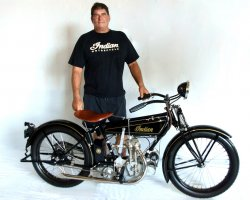 Mark Kozak & His 1925 Indian Prince