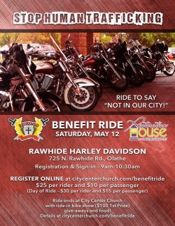 "2018 Stop Human Trafficking-Benefit Ride in support of ""Restoration House"" of Greater Kansas City"