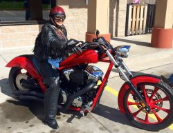 Nancy Scheiterle & Her 2013 Honda Fury