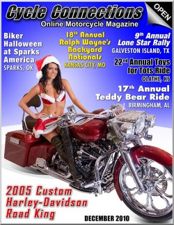 2005 Custom Harley-Davidson Road King and Cover Model Chelsey