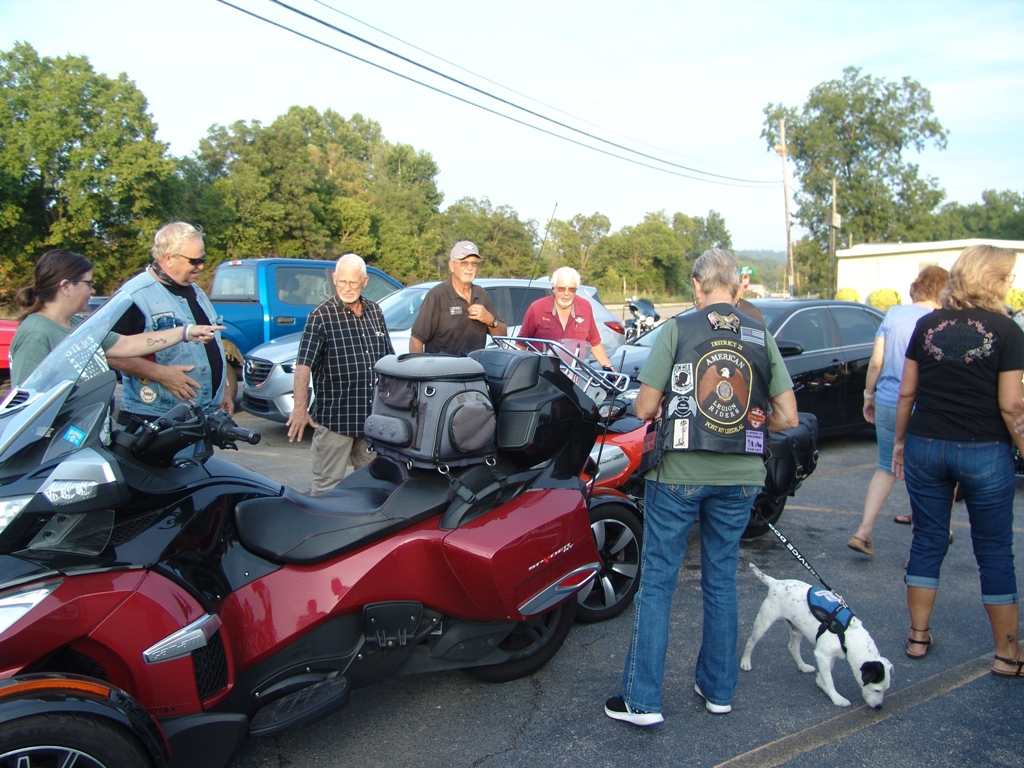 2020 Legion Post 107 Hosts Faith Riders Blessing of the Bikes 12