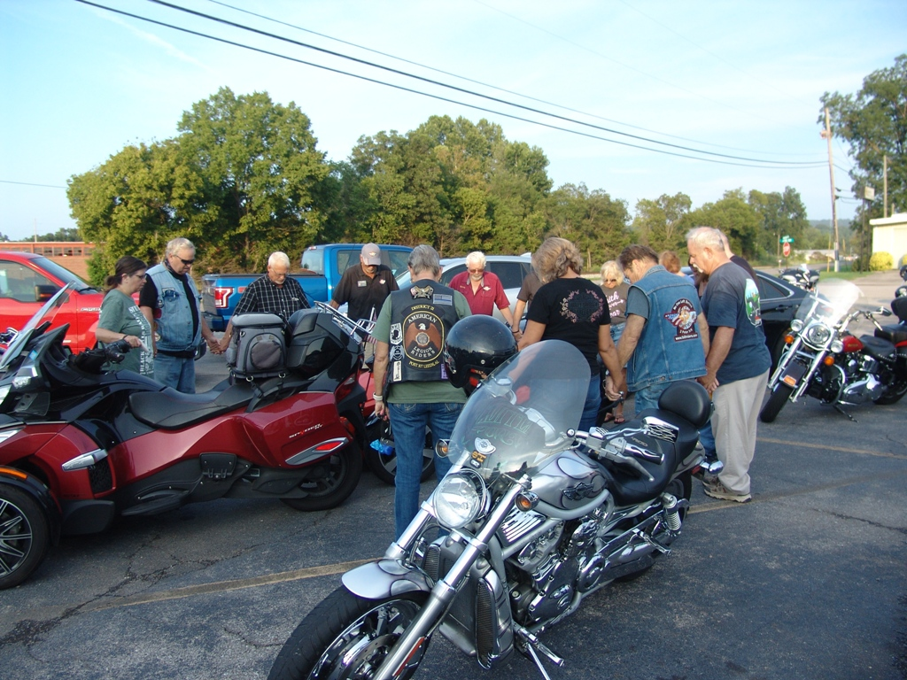 2020 Legion Post 107 Hosts Faith Riders Blessing of the Bikes 13