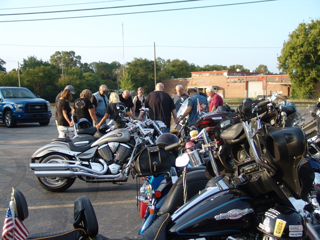2020 Legion Post 107 Hosts Faith Riders Blessing of the Bikes 6